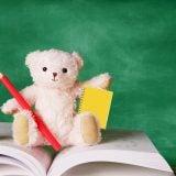 テディベア 勉強 学習 宿題 ノート