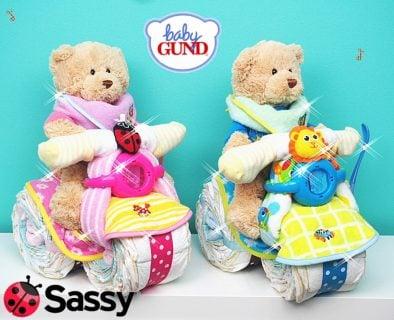 要出典 おむつバイク 出産祝い Sassy