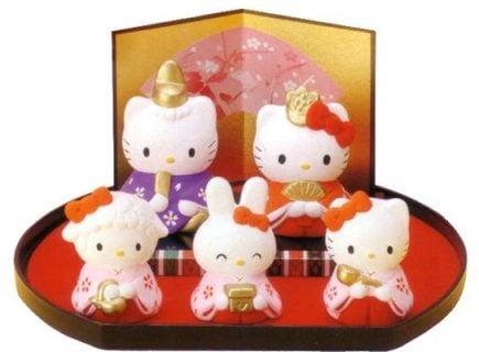 要出典 雛人形 ハローキティ 雛飾りセット