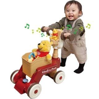 要出典 ディズニー おもちゃ タカラトミー くまのプーさん おしゃべりウォーカーライダー