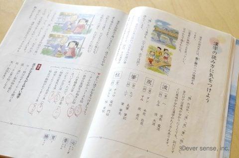 小学校 4年生 教科書 国語 漢字