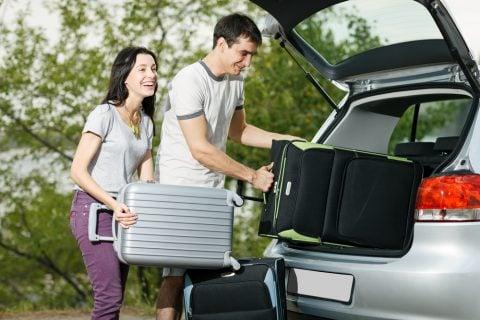 車 旅行 荷物