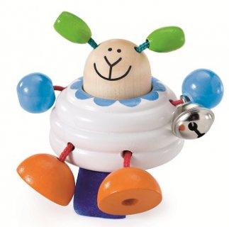 要出典 チャイルドシートのおもちゃ セレクタ 木のおもちゃ ひつじ