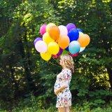 妊婦 妊娠 風船 バルーン