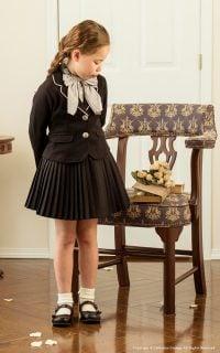 要出典 入学式ワンピース キャサリンコテージ プリーツスカート&ジャケット&ブラウス 3点スーツセット
