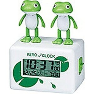 要出典 目覚まし時計 子供 リズム時計工業株式会社 リズム時計 目覚し時計 ケロクロック2