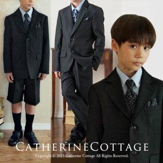 要出典 入学式男の子スーツ キャサリンコテージ トラディショナル王道デザイン パンツスーツ5点セット