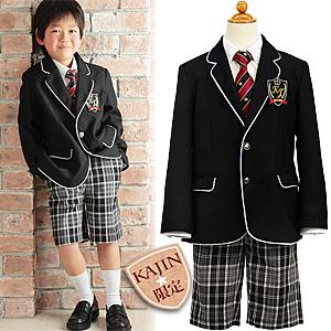 要出典 入学式男の子スーツ KAJIN 男の子フォーマルスーツ4点セット