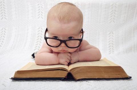 赤ちゃん 本 メガネ