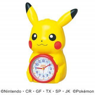 要出典 ポケモン おもちゃ セイコークロック ピカチュウ目覚まし時計