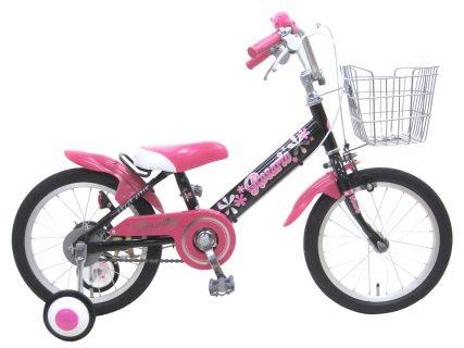要出典 幼児用自転車 チャリンクス ロサリオ 補助輪付き 幼児自転車