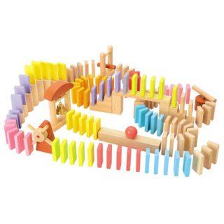 要出典 3歳 女の子 誕生日プレゼント 木のおもちゃ ニチガンオリジナル ドミノ