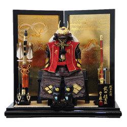 要出典 5月人形 武田信玄鎧飾り