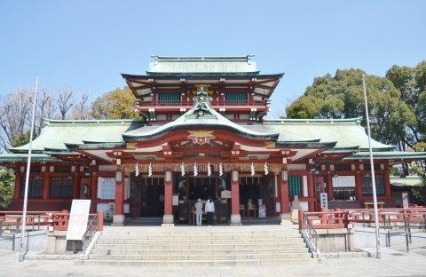 富岡八幡宮 東京 七五三