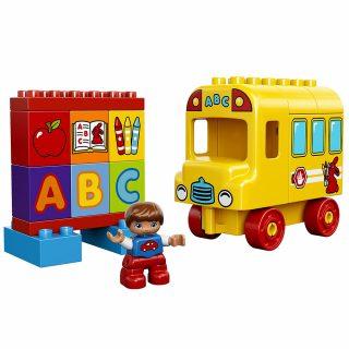 要出典 バスのおもちゃ レゴ デュプロ はじめてのデュプロ バスとABC