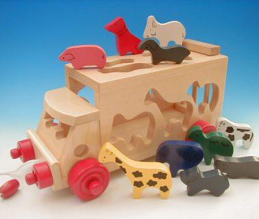 要出典 バスのおもちゃ エド・インター サファリバス