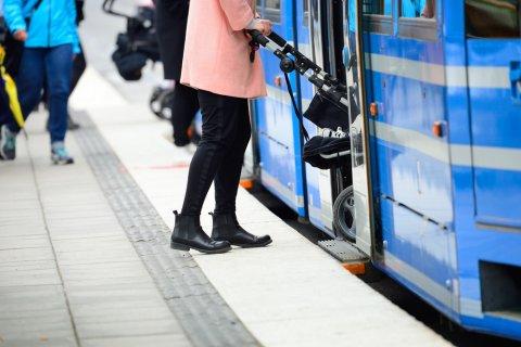 バス ベビーカー ママ 赤ちゃん