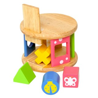 要出典 木のおもちゃ エデュテ ベビー アンド キッズ コロコロパズル