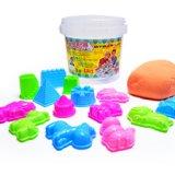 要出典 3歳児のおもちゃ おうちで砂場 チラカサンド 1kg バケツセット