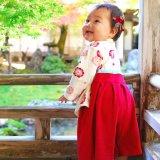 要出典 ひな祭り 衣装 ひなまつり 女の子 袴風 カバーオール
