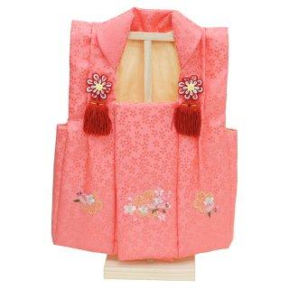 要出典 ひな祭り 衣装 雛人形 被布着 桜刺繍