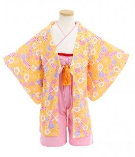 要出典 ひな祭り 衣装 ポッケポッシュ 巫女服風 ロンパース 羽織付き