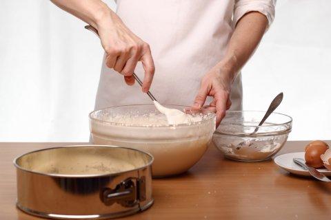 お菓子作り 手作り 女性 台所 キッチン