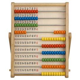 要出典 2歳 3歳 4歳 5歳 知育玩具  学研 木製 100だまそろばん