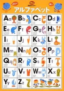 要出典 アルファベット表 くもん