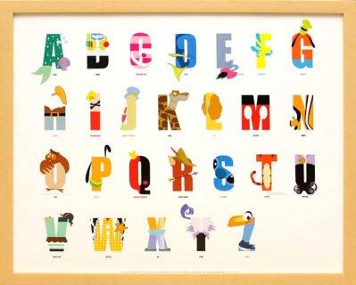 要出典 アルファベット表 ディズニー
