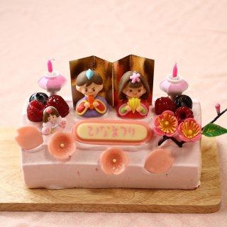 要出典 ひなまつりケーキ ロールケーキ専門店の『ひな祭りロールケーキ』