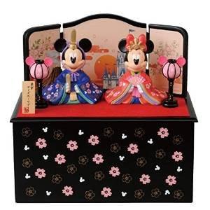 要出典 ひな祭りプレゼント ディズニー ひな祭りグッズ 2016年ミッキーとミニーのひな人形(台付き)