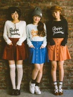 要出典 女子小学生のファッション レピピ