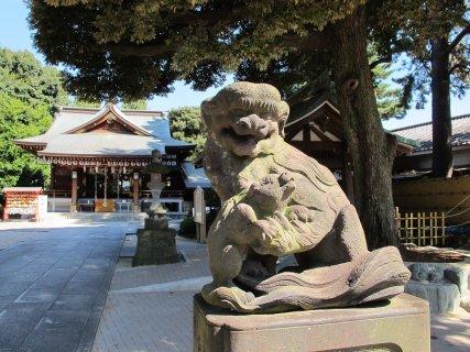 中野沼袋氷川神社