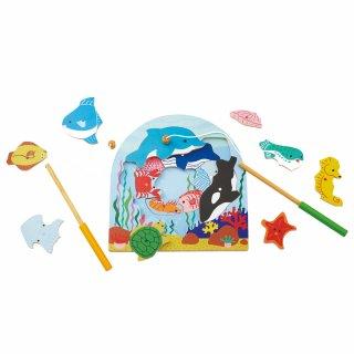 要出典 魚釣り おもちゃ エド・インター 2層パズルフィッシング