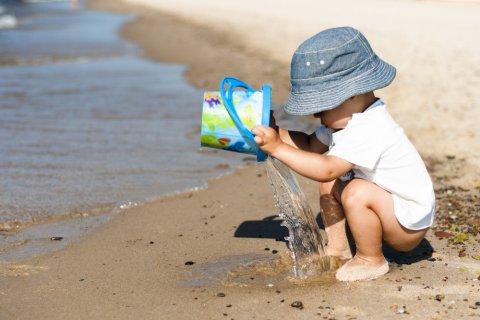 赤ちゃん 海 海水浴