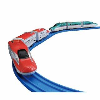 要出典 新幹線のおもちゃ タカラトミー プラレール E5系新幹線&E6系新幹線連結セット