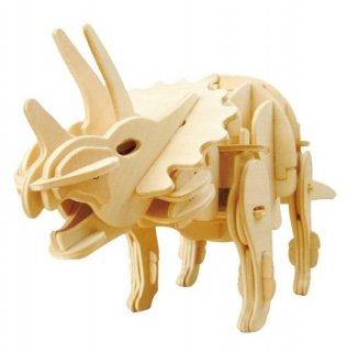要出典 小学生におすすめのプレゼント 動く木製3Dパズルキットトリケラトプス