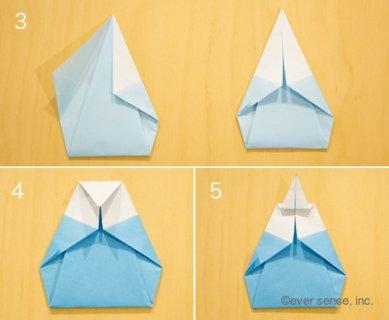 ひな祭り 折り紙 雛人形1