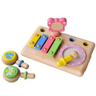 要出典 1歳誕生日女 エデュテ ファーストミュージックセット
