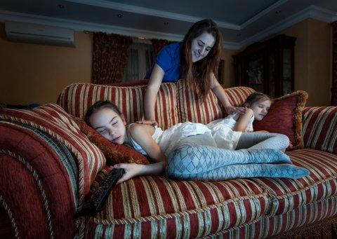 睡眠障害 睡眠不足 夜更かし テレビ