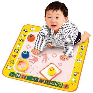 要出典 0~1歳知育玩具 ミッフィー はじめてのスイスイおえかき