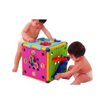 要出典 0~1歳知育玩具 ピープル 頭と体の知育ボックスDX