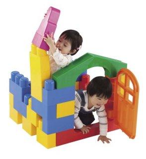 要出典 0~1歳知育玩具 ピープル 1歳には全身でブロック ネオ