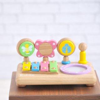 要出典 0~1歳知育玩具 エデュテ ファースト ミュージックセット