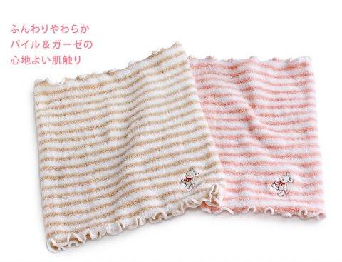 要出典 腹巻 日本製 キッズ のびのび パイル & ガーゼ 腹巻き