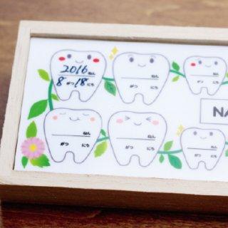 要出典 入園祝い 乳歯保管ケース 桐箱