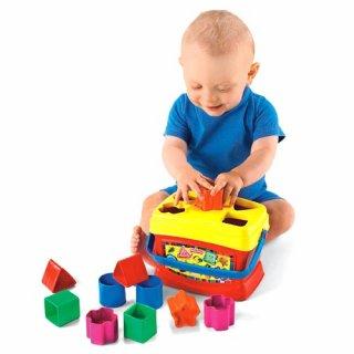 要出典 0~1歳知育玩具 フィッシャープライス はじめてのブロック
