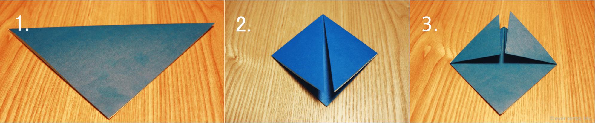 折り紙 兜 折り方