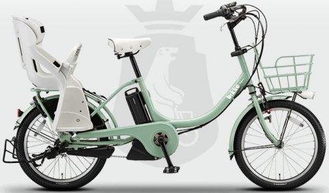 要出典 ママ自転車 ブリヂストン ビッケツーe